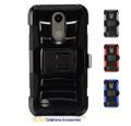 LG K20 Plus For Holster Combo Hybrid Armor Secure Belt Clip