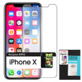 Tempered Glass Cellet  (9H Hardness) (0.3mm) Premium Screen Protector  for Apple iPhone X Cellphone