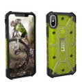Urban Armor Gear Plasma Series (UAG) Citron / Black Cover Case Fits Apple IPhone X Cell Phone