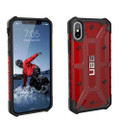 Urban Armor Gear Plasma Series (UAG) Magma/ Red Cover Case Fits Apple IPhone X Cell Phone