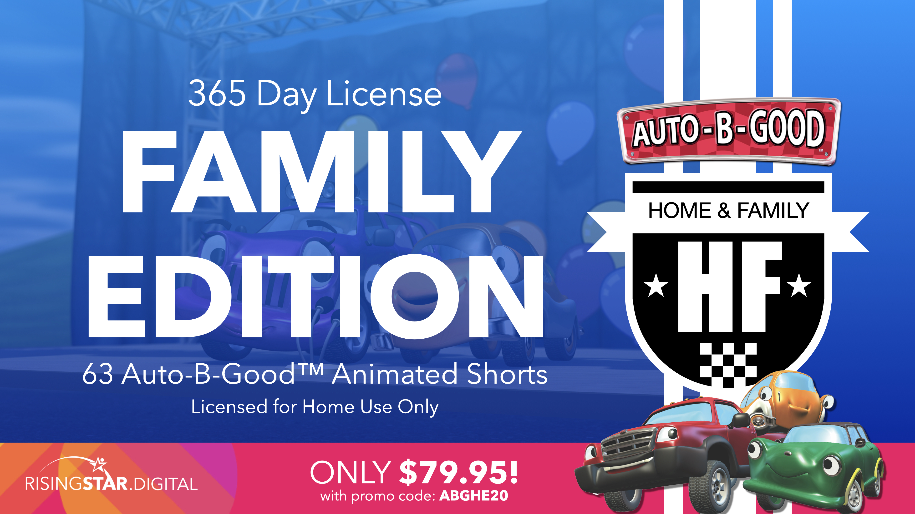ABG Home Edition only $79.95 with Promo Code: ABGHE20