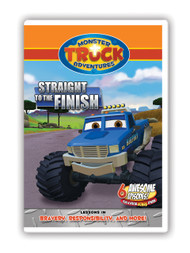 Monster Truck Adventures: Straight to the Finish
