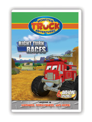 Monster Truck Adventures: Right Turn Races (digital episodes)