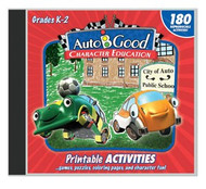 Auto-B-Good: Printable Activity CD for Vol. 1-12 (Grades K-2)
