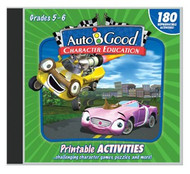 Auto-B-Good: Printable Activity CD for Vol. 1-12 (Grades 5-6)