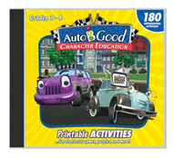 Auto-B-Good: Printable Activity CD for Vol. 1-12 (Grades 3-4)