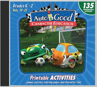 Auto-B-Good: Printable Activity CD for Vol. 13-21 (Grades K-2)