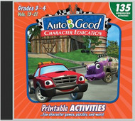 Auto-B-Good: Printable Activity CD for Vol. 13-21  (Grades 3-4)