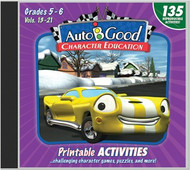 Auto-B-Good: Printable Activity CD for Vol. 13-21 (Grades 5-6)