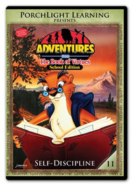 Adventures from the Book of Virtues Volume 11: Self-Discipline (DVD) School Edition