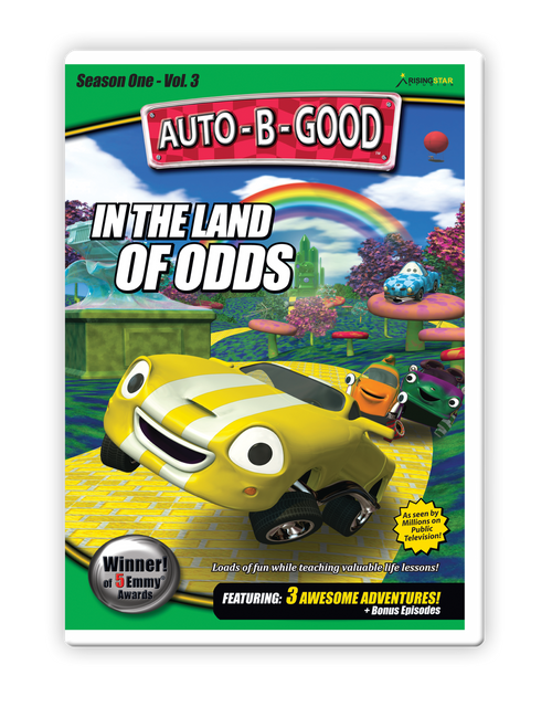 In the Land of Odds DVD cover