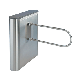 Rounded Front, Waist High, Electric 2-Way Gate