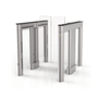 Waist High Optical Turnstile, with Clear Panels (TG-ALV-U5000S1)