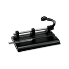 1-7 Hole Punch, Adjusts, 40 Sheet, 13/32""