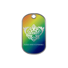 Stainless Steel Tag, Color Printed