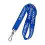 "Lanyards, Flat, 1/2"", Screen Printed, Swivel J-Hook"