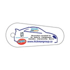 Custom Oval Shaped Key Tag