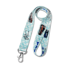 "Lanyards, 1/2"" Dye-Sublimated Printing, Swivel J-Hook"