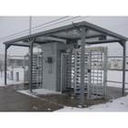 Turnstile Enclosure, Installation 5
