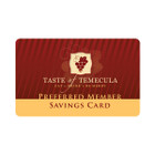 Membership Cards with Benefits
