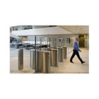 Optical Turnstile with Retracting Hi-Panels
