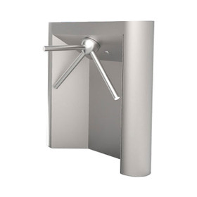 Rounded-Front Waist-High Turnstile, Electric