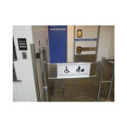 Retail Store Motorized Gate, 1 Direction