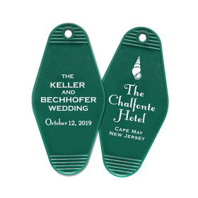 Destination Wedding, 2-Sided  Guest Keys