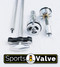 Sports Valve for Fully Adjustable Damping Control