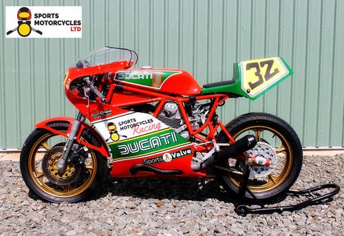 Ducati TT2 Side View