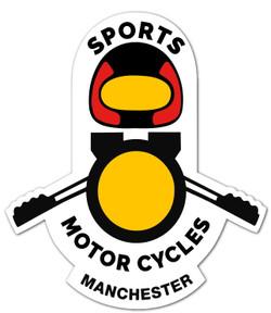 Sports Motorcycles Medium Decals (Pair)