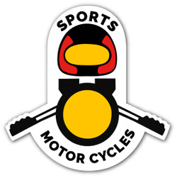 Sports Motorcycles Small Decal