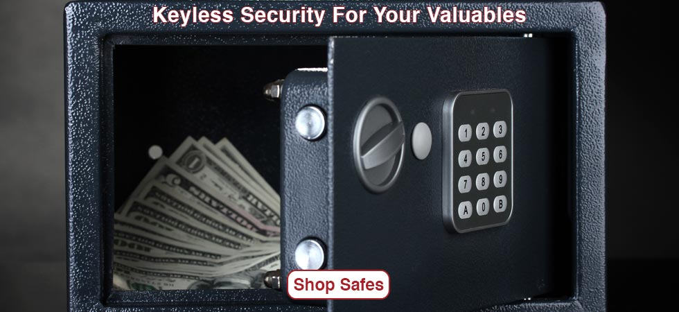 Keyless Security for Your Valuables