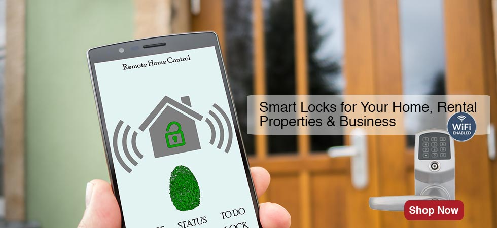 Smart Locks for Your Home, Rental Properties & Business