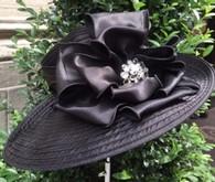 Valerie Satin Ribbon Hat