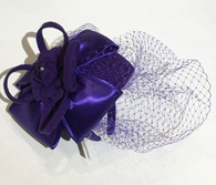 Karina Satin Bow Fascinator