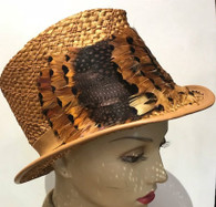 Dan Fedora with Feathers (available to be ordered)