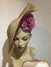 Aba Fascinator/Hat/Cocktail Hat