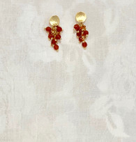 Golden Pomegranate Beads