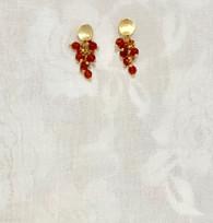 Golden Pomegranate Beads