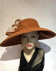 Agata Velvet Lace Hat