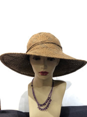 Beach Straw Hat (Tan)