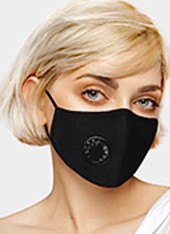 Minimalist Mask with Respirator (Multiple Colors)