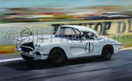 Corvette at Le Mans 1963 - Original