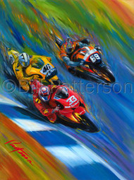 3-up, Moto GP 2006 - Limited Edition Print (almost sold out!)