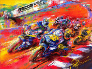 """""""They're Back"""" Moto GP 2005 - Limited Edition Print"""