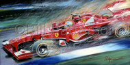Alonso - Limited Edition Print