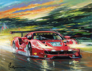 Risi Competizione at LeMans 2016 - Giclee on Canvas