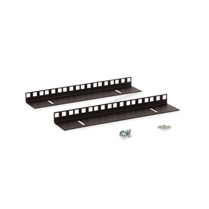6U LINIER Wall Mount Vertical Rail Kit - Cage Nut (3150-3-001-06)