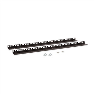 15U LINIER Wall Mount Vertical Rail Kit - Cage Nut (3150-3-001-15)